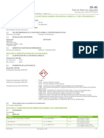 ZE 4E Safety Data Sheet Espanol