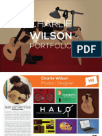 Design Portfolio Charlie Wilson