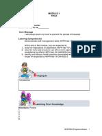 Module 1 English