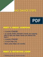Tinikling Dance Steps