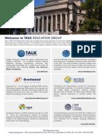 TALK Education Group Flyer-Columbia