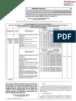 Prorrogan Vigencia de Licencias de Conducir de La Clase a de Resolucion Directoral n 006 2019 Mtc18 1773872 1