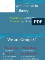 ICT APLLICATION IN LIBRARY