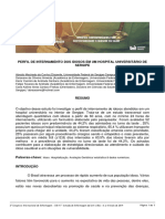PERFIL DE INTERNAMENTO DOS IDOSOS EM UM HOSPITAL UNIVERSITÁRIO DE SERGIPE