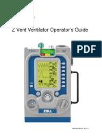 ZOLL Ventilator Operator's Guide