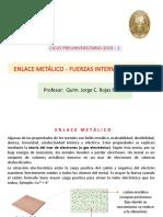 (7) Fuerzas intermoleculares