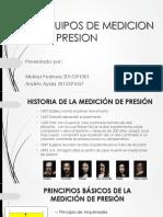 Equipos de Medicion de Presion