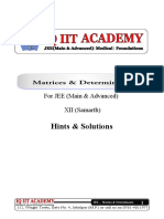 1-Matrices & Determinants