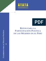 Retos Para La Participación Política de La Mujer en El Perú