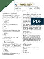 Cuestionario 1 de Lengua Castellana