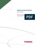 Mfd 3-00-340 Radar User Manual Mar,2016