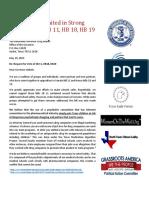 Final Abbott Veto Mental Health Coalition Letter 5-29-19