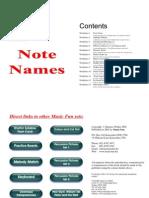 Note Name Worksheets