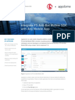 Integrate F5 Anti-bot Mobile SDK With Any Mobile App