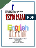 Informe Primer Semestre Gilsi Alvarenga Ingles