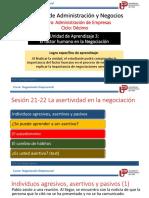 Unidad 3 - Sesion 21-22 La asertividad en la negociación.pptx