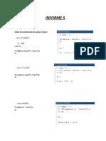 Informe 5 Señales y Sistemas