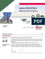114150165 Leica CS10 CS15 UserManual Es