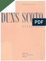 Dun Scotus, filósofo