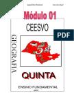 Apostila Ensino Fundamental  CEESVO - Geografia - Módulo 01