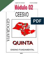 Apostila Ensino Fundamental  CEESVO - Geografia - Módulo 02