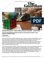 Daniel Dennett_ 'I Don't Like Theory of Mind' – Interview _ Science _ the Guardian
