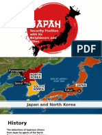 Japan's Security Position With Its Neighbors and Allies