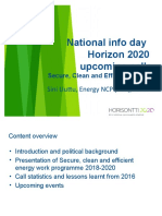 h2020 Info-day Energy