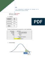 Trabajo de Hipotesis Estadistica 2 -2016-i