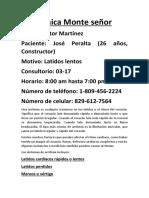 Caso Clínico Sobre La Arritmia by Víctor Álvarez
