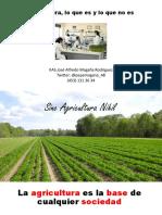 Agricultura ecológica, mitos y sofismas.