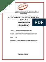 Codigo de Etica de La Funcion Pública(Mono-(Final)