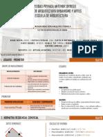 Programación Residencial Comercial