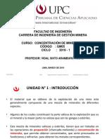 1.- Concentración de Minerales-UPC -SEM I(5)