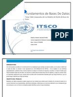 Tabla Compararativa MODELOS DE DISEÑOS DE BASES DE DATOS