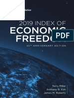 Economic Freedom Index 2019