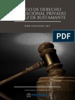 Codigo de Derecho Internacional Privado Sanchez de Bustamante