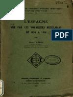 LEspagne Vue Par Les Voyageurs Musulmans
