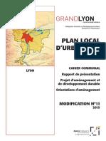 Lyon plan local d'urbanisme