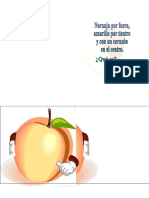 Adivinanza de Fruta