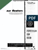 ASME PTC 4.2 - (1997) Coal Pulverizers