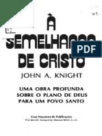 À Semelhança de Cristo - John A. Knight.pdf