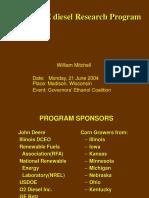 John Deere E Diesel Research