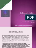 Hotel Marketing Plan 2019