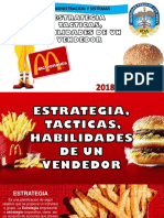 Gestion de Ventas Mc Donals