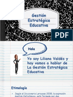 Gestion Estrategica Educativa