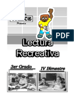 LECTURA RECREATIVA