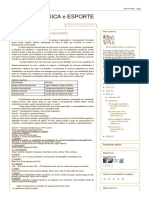 EDUCAÇÃO FISICA e ESPORTE_ Planejamento e Organização de Eventos