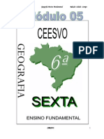 Apostila Ensino Fundamental  CEESVO - Geografia - Módulo 05
