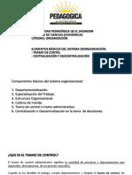 08-02-2019 Tramo de Control - Centralización y Descentralización